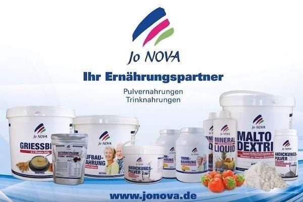 Jo NOVA Video Anwendung Aufbaunahrung