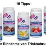 10 Tipps zu Trinknahrung